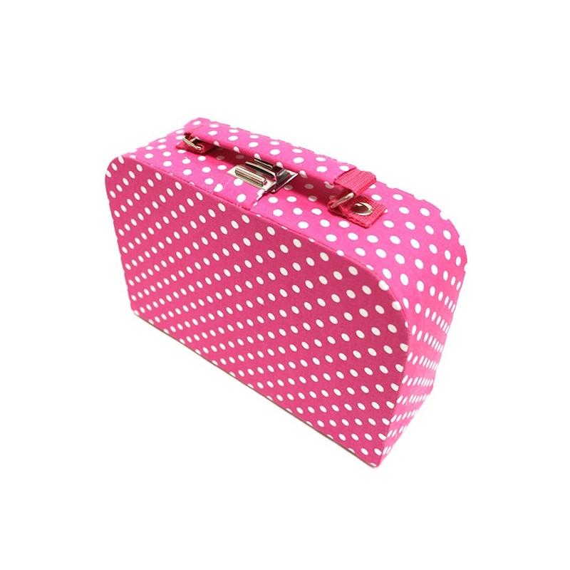 Moyenne bo te couture en tissu fuchsia ma petite mercerie for Boite couture tissu