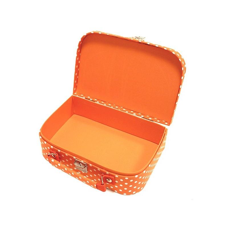 Moyenne bo te couture en tissu orange ma petite mercerie for Boite couture tissu