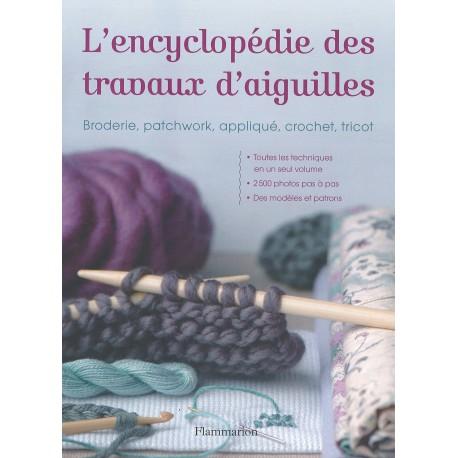 """Livre """"L'encyclopédie des travaux d'aiguilles"""""""