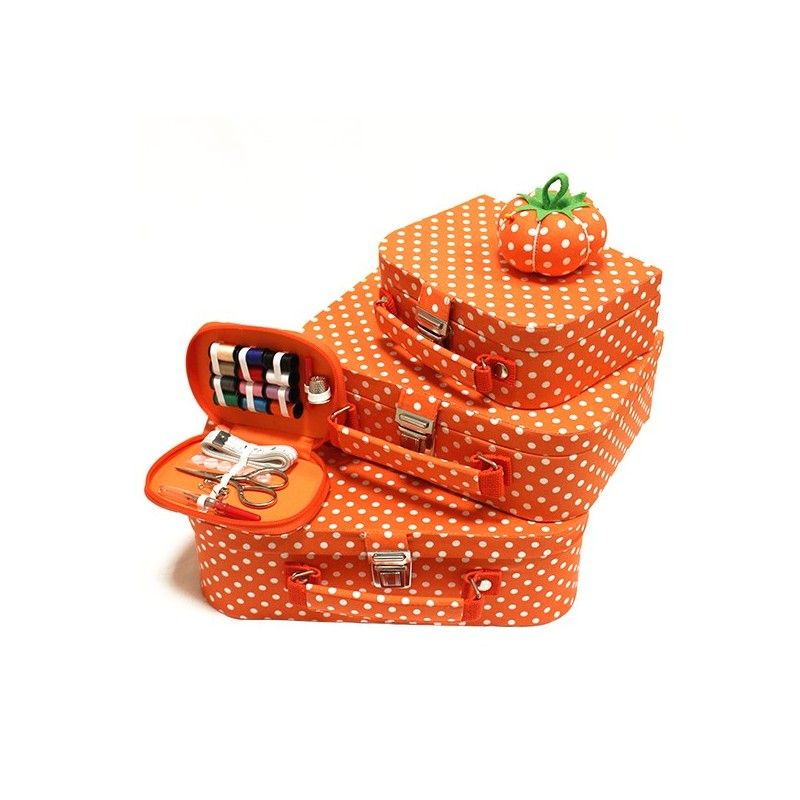 Coffret couture orange ma petite mercerie for Couture mercerie