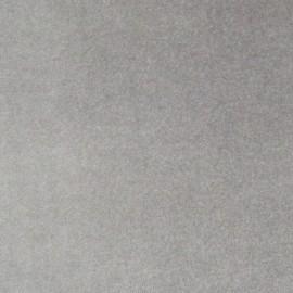 Tissu Velours ras gris clair x10cm