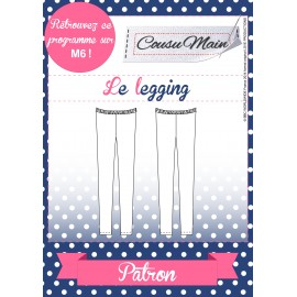 """Legging"" sewing pattern - multicolored"