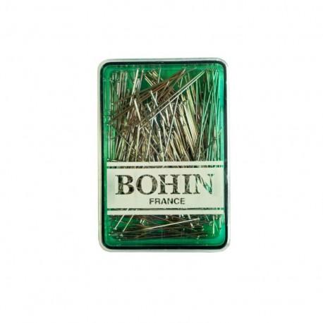 Épingles couturex BOHIN n°4 acier trempé boite de 200