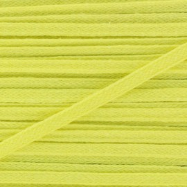3 mm Cotton ribbon for Fashion Design - Yellow