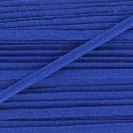 Flat cotton string 3 mm - blue