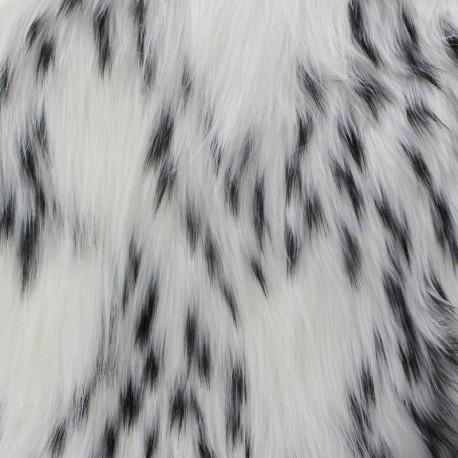 Fourrure Confetti Blanc x 10cm