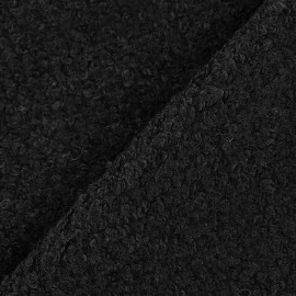 Tissu Lainage Bouclette Brun  x 10cm