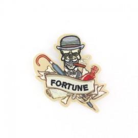 ♥ Hamlet Folies Fortune iron-on applique - beige♥