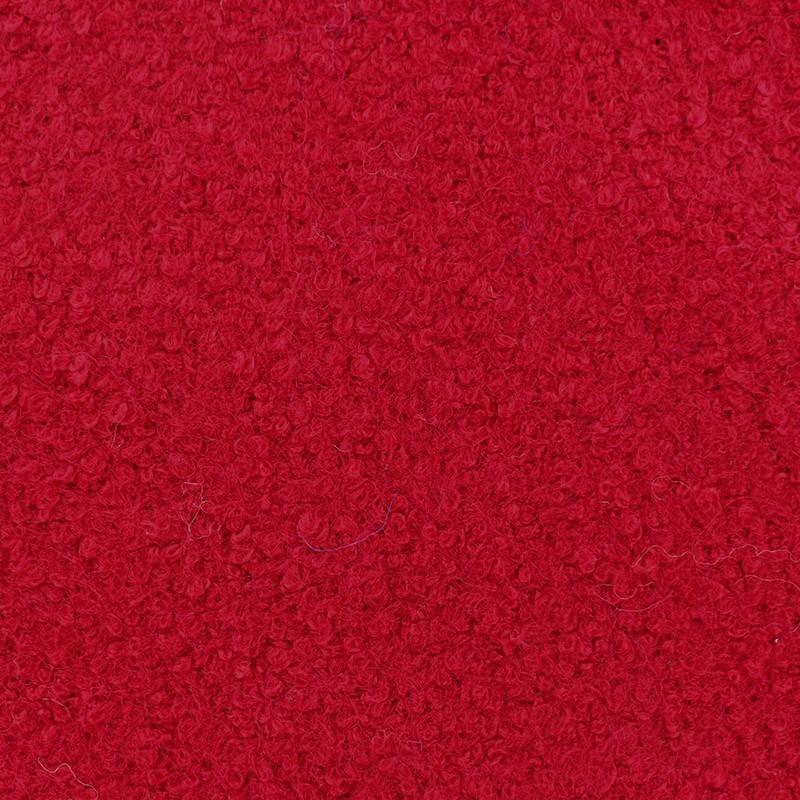 Tissus pas cher tissu lainage bouclette rouge - Tissus rouge pas cher ...