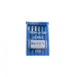 Aiguilles machine spécial JEANS n°100 BOHIN