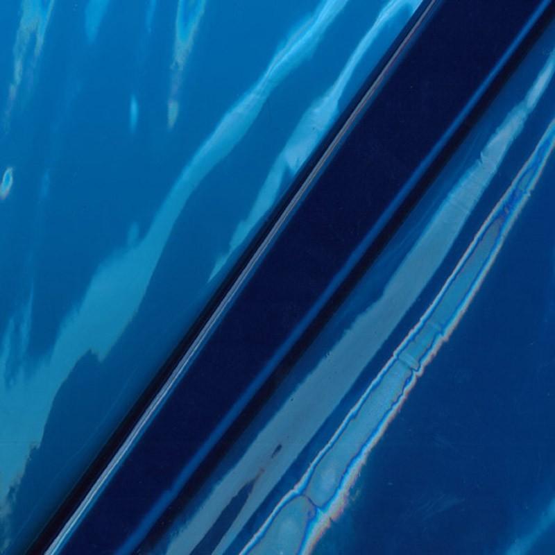 20 gauge blue vinyl fabric x 10cm - Ma Petite Mercerie