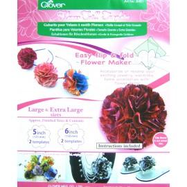Gabarits pour volants à motifs floraux 125mm et 150mm