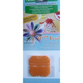 Confectionneur de fleurs 50 mm pétale froncé