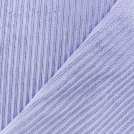 Minkee ribbed velvet fabric - wisteria x 10cm