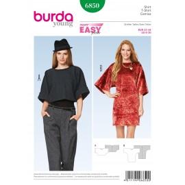 Patron T-shirt Burda n°6850