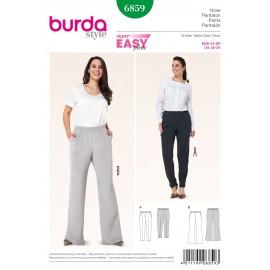 Patron Femme Pantalon Burda n°6859