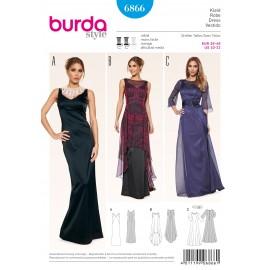 Dress Sewing Pattern Burda n°6866