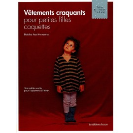 """Livre """"Vêtements Craquants pour Petites Filles Coquettes"""""""