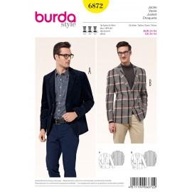 Patron Complet & Gilet Burda n°6871
