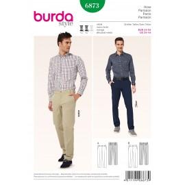 Patron Homme Pantalon Burda n°6873