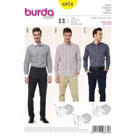 Patron Chemise Burda n°6874