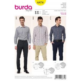Patron Pantalon Burda n°6873