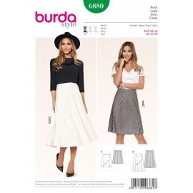 Patron Pantalon Burda n°6879