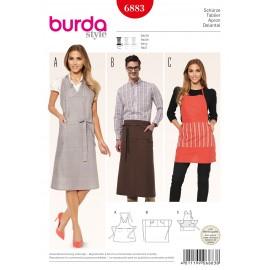 Patron Boudin de porte Burda n°6882