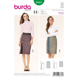 Patron Jupe Burda n°6834