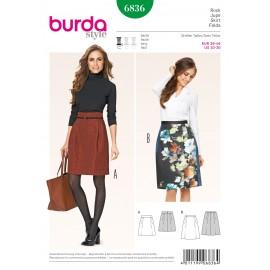Patron Jupe Burda n°6835