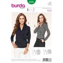 Patron Pantalon Burda n°6837