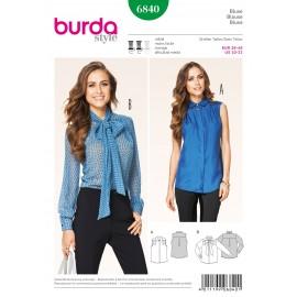 Patron Blouse Burda n°6839