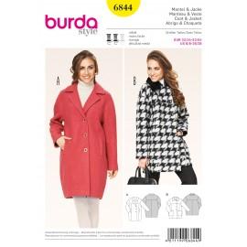 Patron Veste Burda n°6843