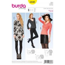Patron Veste Burda n°6847