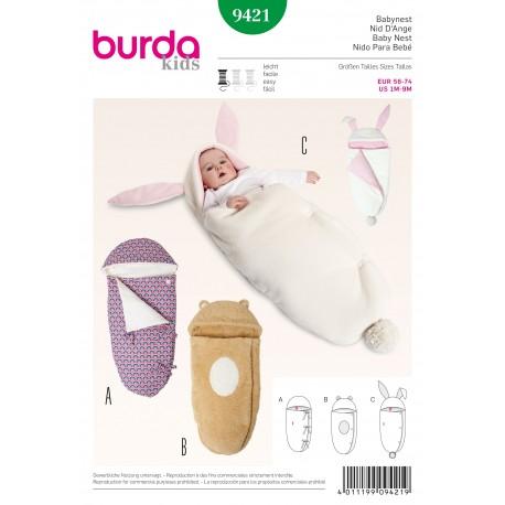 Patron Chambre d'enfant Burda n°6885