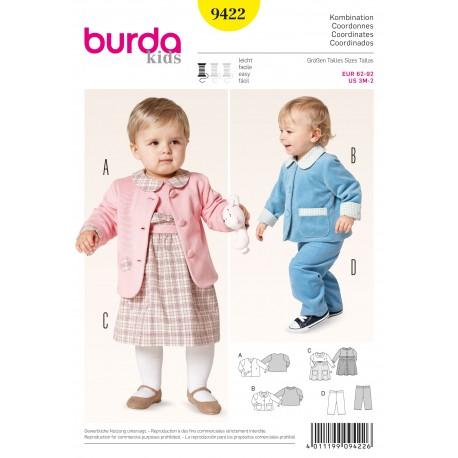 Coordinates Sewing Pattern Burda n°9422