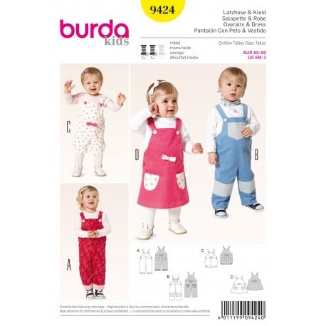 Patron Coordonnés Burda n°9423