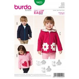 Patron Veste Burda n°9425