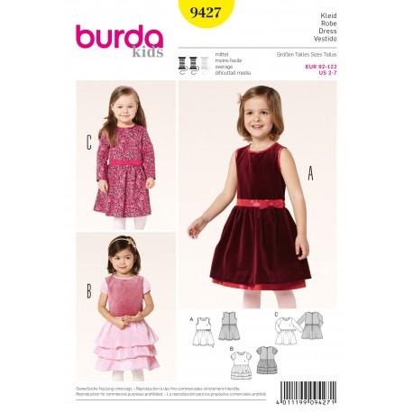 Dress Sewing Pattern Burda n°9427