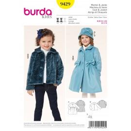 Coat & Jacket Sewing Pattern Burda n°9429