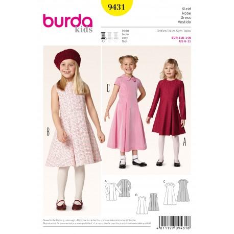 Dress Sewing Pattern Burda n°9431