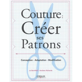 """Livre """"Couture: Créer ses patrons"""""""