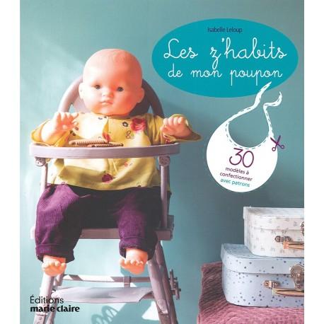 """Book """"Les z'habits de mon poupon à coudre"""" - multicolored"""