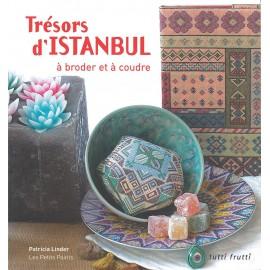 """Livre """"Trésors d'istanbul - à broder et à coudre"""""""