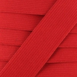 Flat elastic Color - red