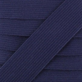 Flat elastic Color - navy