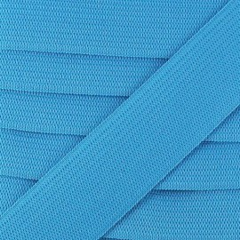 Flat elastic Color - turquoise
