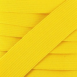 Flat elastic Color - yellow