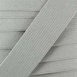 Flat elastic Color - pearl grey