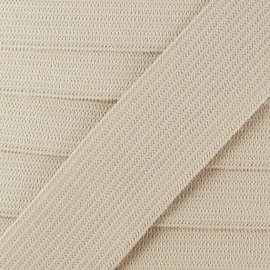 Flat elastic Color - linen